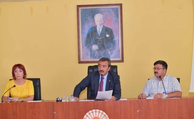 Doğu Akdeniz Belediyeler Birliği'nde Soner Çetin güven tazeledi