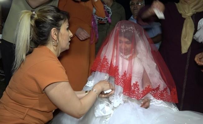 """Kırıkkale'de """"damatsız düğün"""""""