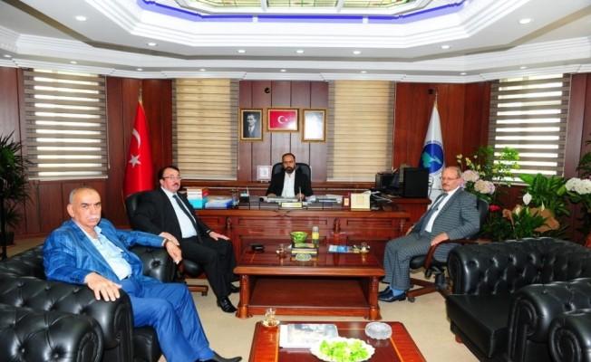 Rektör Şevli'ye ziyaretler devam ediyor