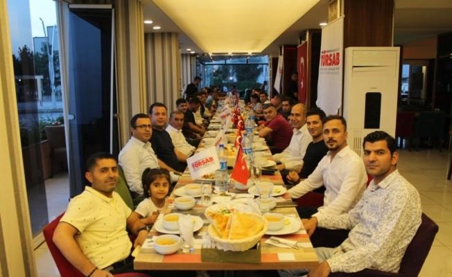 Şırnak'taki seyahat acenteleri TÜRSAB'ın iftarında bir araya geldi