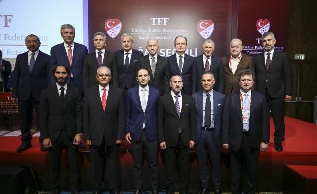TFF Yönetim Kurulu görev dağılımı yaptı
