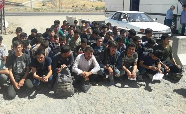 Van'da 251 kaçak göçmen yakalandı