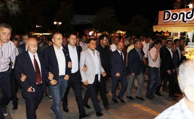 """Amasya'da """"15 Temmuz Demokrasi ve Milli İrade Yürüyüşü"""""""