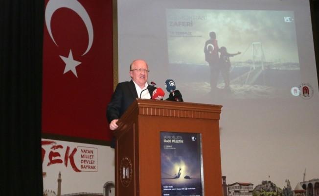 Amasya'da 15 Temmuz şehitlerini anma programı