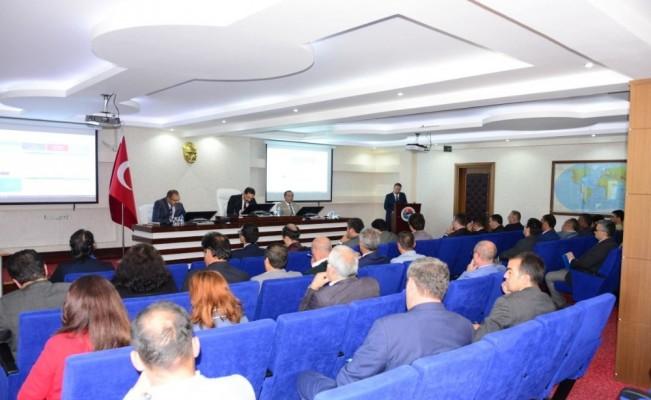 Ardahan'da 2019 yılı 3. dönem koordinasyon kurulu toplantısı yapıldı