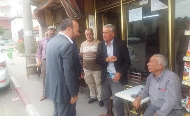 Başkan Dağdelen Keskin'de vatandaşla buluştu