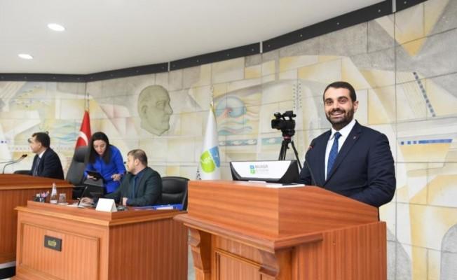 Başkan Dağlı Büyükşehir Meclisi'nde