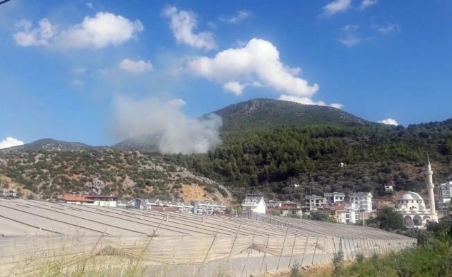 Fethiye'de orman yangını