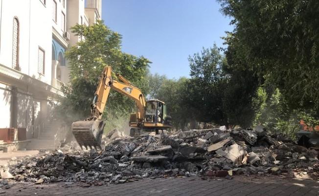 Haydar Aliyev Parkı yenileniyor