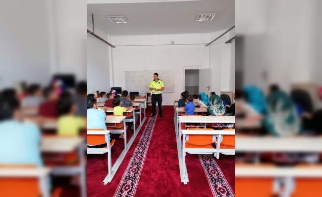 Iğdır'da yaz dönemi trafik eğitimleri