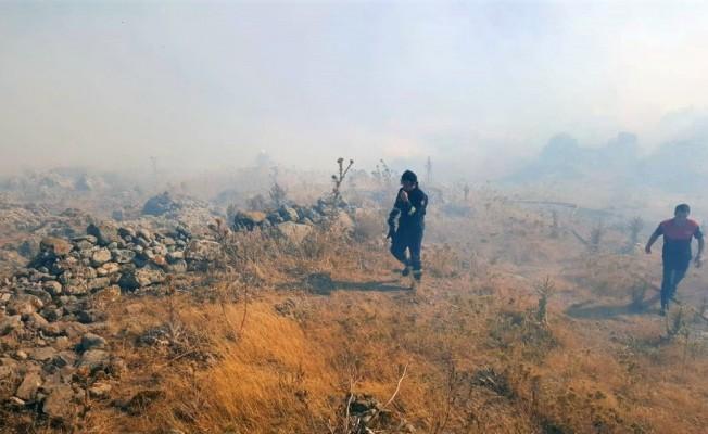 İtfaiye, Bodrum yangınına 56 personelle müdahale etti