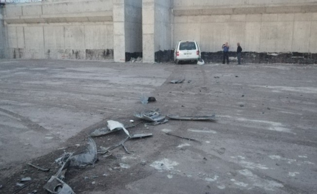 Kayseri'de akıl almaz kaza