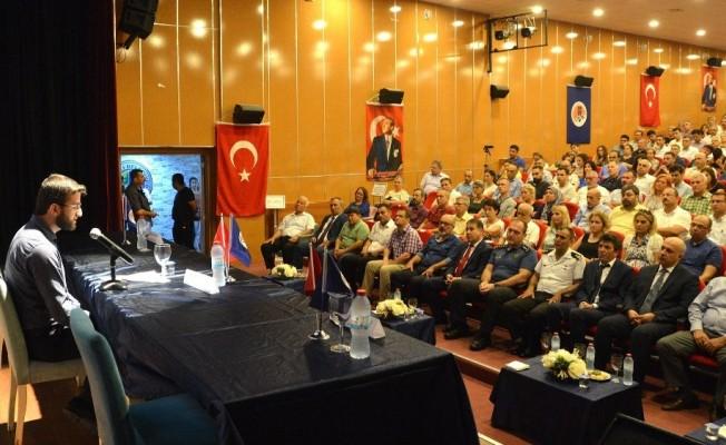Mersin'de '15 Temmuz Demokrasi ve Milli Birlik Günü' etkinliği