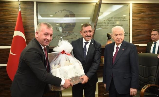 """MHP Genel Başkanı Bahçeli: """"15 Temmuz'da bize acımadılar, biz de onlara adalet içinde acımayacağız"""""""