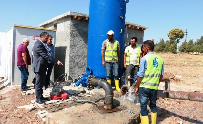 ŞUSKİ Akçakale'deki içme suyu sorununu kalıcı olarak çözüyor