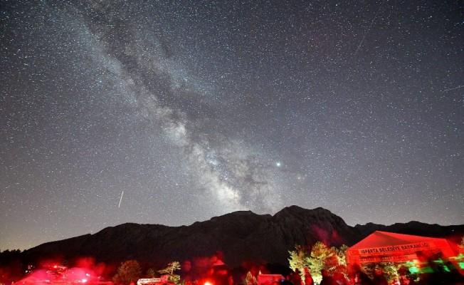 Türkiye'nin en karanlık noktasında Gökyüzü Gözlem Şenliği tamamlandı