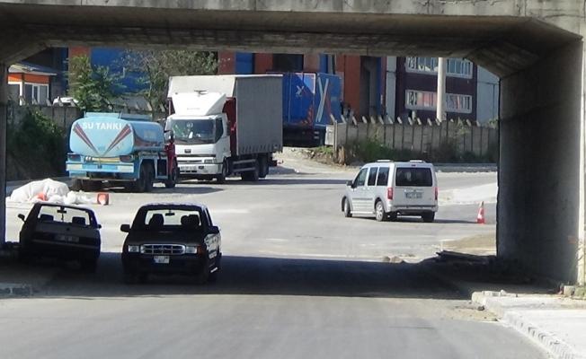 Alt geçit trafiğe açıldı