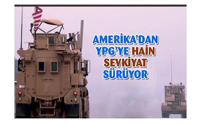 Amerika'dan YPG'ye sevkiyat sürüyor