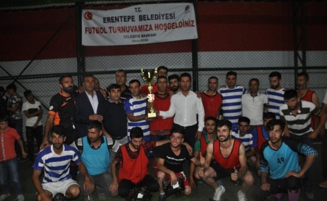Erentepe'de futbol turnuvası