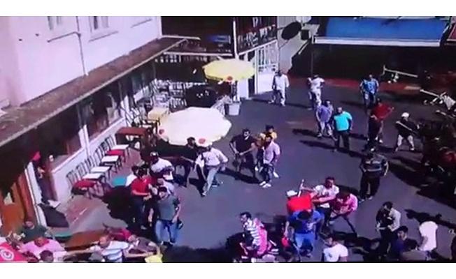 Faytoncularla akülü araç sahipleri arasında kavga