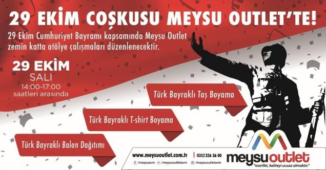 Meysu Outlet Te Cumhuriyet Bayrami Coskusu