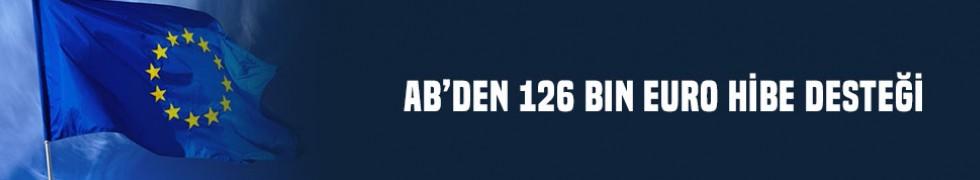 AB'den 126 bin Euro hibe desteği
