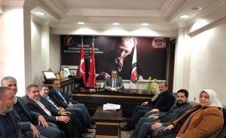 AK Parti heyeti AGC'yi ziyaret etti