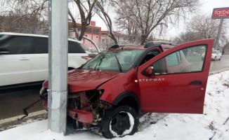 Akpınar ilçesinde kaza: 1 yaralı