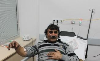 Aksaray'da çıkan yangında 31 kişi dumandan etkilendi