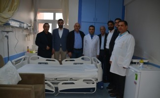 Aliağa Devlet Hastanesi'ne 16 yatak bağışlandı