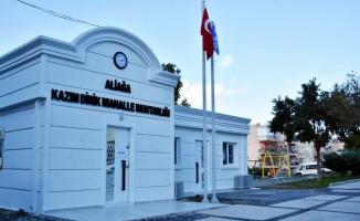 Aliağa'da kent estetiğine uygun yeni muhtarlık binaları