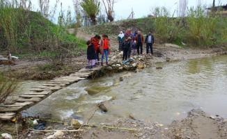 Aydın'da vatandaşların köprü isyanı