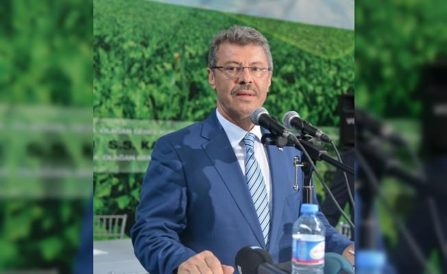 Başkan Akay Kayseri Şeker'in katkılarını ekranda anlattı