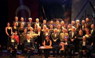 Başkan Cahan'a Musiki Derneği'nden ödül