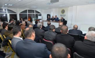 Başkan Gürkan, İrfan Akademisinin konuğu oldu
