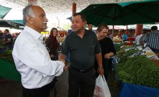 """Başkan Karabağ: """"Yerel üretimi, tarımdan sanayiye her alanda desteklemek en doğrusu"""""""