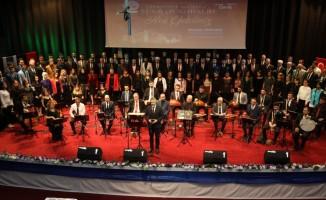 Belediye personeli 'Şükran Konseri'nde buluştu