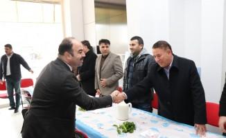 Çiftçi, Gaziantep'te hemşehrileriyle buluştu