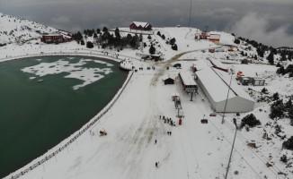 Erzincan Ergan Dağı'nda kayak sezonu açıldı