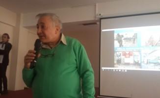 Gezginci Yazar Prof. Dr. Orhan Kural Fen Lisesi'nde konferans verdi