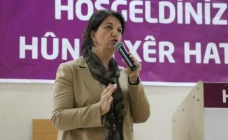 HDP Eş Genel Başkanı Pervin Buldan Ağrı'da
