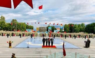 İskenderun'da Deniz Er Eğitim Alayı Mehmetçikleri yemin etti