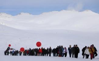 Kaçkar Buzul Gölü'nde sıra dışı