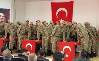 Kahramanmaraş'ta 28 güvenlik korucusu için yemin töreni