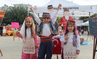 Marmaris'te Yerli Malı Haftası'nda renkli kutlama