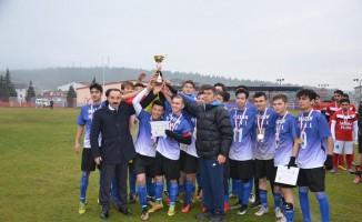 Okul Sporları Futbol Genç Erkekler İl Birinciliği Müsabakaları sona erdi