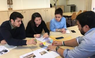 Portekiz'deki SEA Sosyal Kuluçka Merkezi'ni ziyaret ettiler