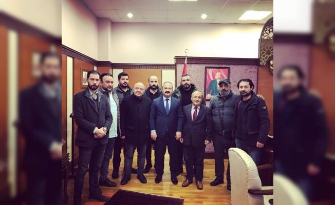 Rektör Coşkun'dan yerel basına destek