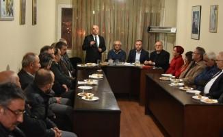 Salihli MHP'de istişare toplantısı