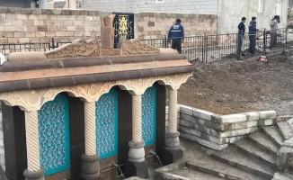 Saray'daki tarihi çeşme restore edildi